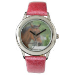 Bay Arab Horse Wrist Watch