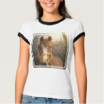 Chestnut Arab Horse Ladies T-Shirt