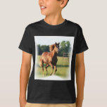 Chestnut Galloping Horse Men's T-Shirt