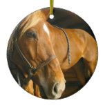 Chestnut Horse Ornament