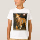 Chestnut Horse Photo Kid's T-Shirt