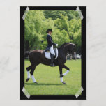 Dressage Horse Show Rider Invitation