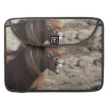 Funny Horse Making a Silly Face MacBook Pro Sleeve