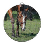 Gorgeous Quarter Horse Dartboard With Darts