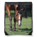 Gorgeous Quarter Horse Drawstring Bag
