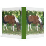 Grazing Pony Binder