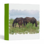 Horse Family Grazing Binder