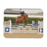 Horse Over Fence Flexible Magnet