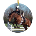 Hunter Jumper Horse Ornament