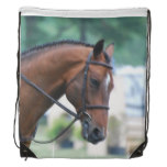 Morgan Horse Drawstring Backpack
