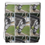 Sweet Appaloosa Horse Drawstring Bag