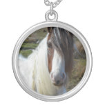 Sweet Connemera Pony Silver Plated Necklace