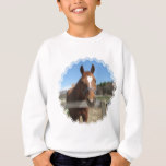 Sweet Quarter Horse Kid's Sweatshirt