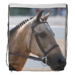 Sweet Roan Pony Drawstring Backpack