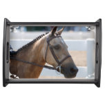 Sweet Roan Pony Serving Tray