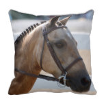 Sweet Roan Pony Throw Pillow