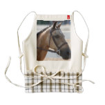 Sweet Roan Pony Zazzle HEART Apron