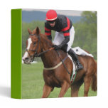Turf Horse Race Binder